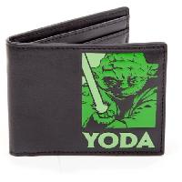 Portefeuille Portefeuille pliable Star Wars- Yoda