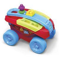 Porteur - Pousseur MEGABLOKS - Mon Wagon Trieur de Formes - Mattel