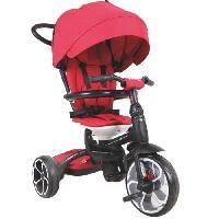 Porteur - Pousseur OCIOTRENDS - Tricycle PRIME rouge