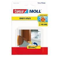 Pose - Finition (joint - Colle - Lambourde - Plot - Profile - Feutre) Joint bas de porte adhesif - Mousse PVC - 1 m x 38 mm - Marron