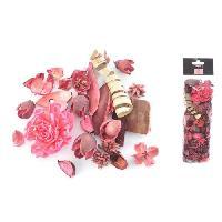 Pot Pourri Pot pourri 140 g - 8x30x5 cm - Parfum rose - Rose