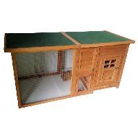 Poulailler POILS et PLUMES Poulailler Romeo en bois 5 poules 160 x 75 x 80cm
