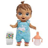 Poupee - Peluche Baby Alive - Bébé Sautille - Poupee cheveux bruns