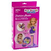Poupee - Peluche Boite poupee a habiller en pate Fun Dough - Blonde