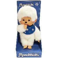 Poupee - Peluche MONCHHICHI - Snow 20 cm