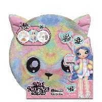 Poupee - Peluche Na! Na! Na! Ultimate Surprise poupée mannequin avec longs cheveux et nombreux accessoires de mode - Rainbow Kitty