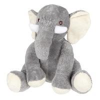 Poupee - Peluche Peluche Elephant - assis - 21 cm Aucune