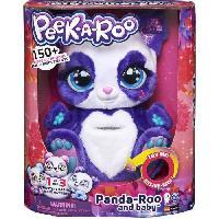 Poupee - Peluche Peluche PEEK-A-ROO Maman Panda et Bébé