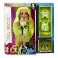 Poupee - Peluche Rainbow High Poupée Mannequin 28cm - Karma Nichols - Neon