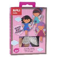 Poupee APLI Mini kit Best friend fée - En mousse EVA