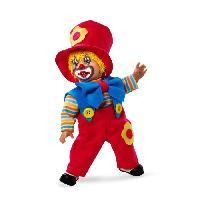 Poupee ARIAS Poupon Clown fantaisie 38 cm - Noeud bleu