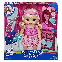 Poupee Baby Alive - Coiffure Magique - Poupée Cheveux Blonds