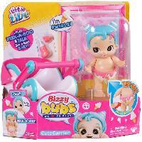 Poupee LITTLE LIVE PETS Bizzy Bubs avec mobilier SWIRLEE