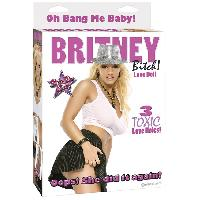 Poupee gonflable Britney