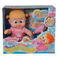 Poupon BOUNCING BABIES Bonny Nage Avec Son Dauphin