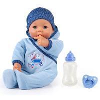 Poupon Hello Baby Garcon avec Fonction - 46 cm