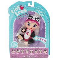 Poupon TINY ToeS - Mini Poupon interactif - Gabby Babille - Panda