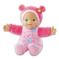 Poupon VTECH Little Love - Mon bebe coucou-cache rose