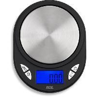 Preparation Culinaire ADE 0409036 - Balance de poche portée 100g /graduation 0.01 g - Ecran LCD rétroéclairage bleu - Arret et tare automatique