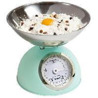 Preparation Culinaire BESTRON DKW700SDM Balance de cuisine mécanique - Vert Pastel