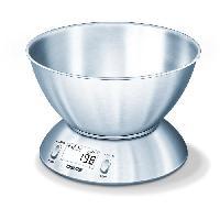 Preparation Culinaire BEURER - KS 54 Balance de cuisine bol - acier inoxydable