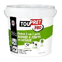 Preparation Des Supports (sous-couche - Enduit - Ragreage) Enduit 2 en 1 pour bandes a joints et lissage pate 15 kg TP-EJL112