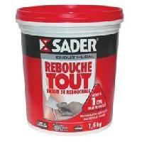 Preparation Des Supports (sous-couche - Enduit - Ragreage) Enduit Rebouchage Pate 1.5Kg Sader