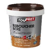 Preparation Des Supports (sous-couche - Enduit - Ragreage) Enduit de rebouchage bois pate 1.25 kg