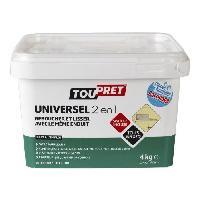 Preparation Des Supports (sous-couche - Enduit - Ragreage) Enduit pate Universel 2 en 1 avec spatule incluse 4 kg