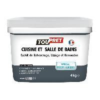Preparation Des Supports (sous-couche - Enduit - Ragreage) Enduit renovation cuisine et salle de bains 4 kg