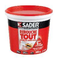 Preparation Des Supports (sous-couche - Enduit - Ragreage) Pot Pate Enduit Rebouche Tout - 500g