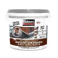 Preparation Des Supports (sous-couche - Enduit - Ragreage) RUBSON Anti-infiltrations Toutes Toitures Gris 1kg