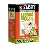 Preparation Des Supports (sous-couche - Enduit - Ragreage) SADER Boite Enduit lisse et rebouche Poudre - 1kg