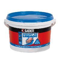 Preparation Des Supports (sous-couche - Enduit - Ragreage) SADER Seau Pate Enduit Lissage - 5kg