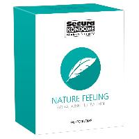 Preservatifs 100 Preservatifs Secura Extra Fin - Nature Feeling D52mm 18cm