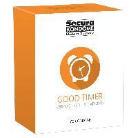 Preservatifs 100 Preservatifs Secura Retardants - Good Timer Transparent D52mm