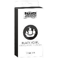 Preservatifs 12 Preservatifs Noirs Perles - Black Pearl