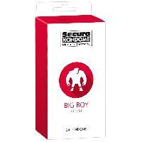 Preservatifs 24 Preservatifs Grand Format - Big Boy L60 mm l19.5 cm