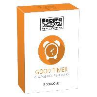 Preservatifs 3 Preservatifs Retardants transparents - Good Timer