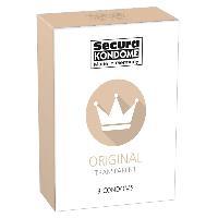 Preservatifs 3 Preservatifs Secura Original transparent D52mm