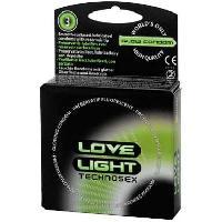 Preservatifs phosphorescents par 3