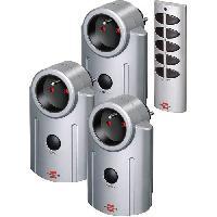 Prise Telecommandee - Telecommande De Prise BRENNENSTUHL Pack télécommande + 3 prises télécommandées Primera-line RC 3600
