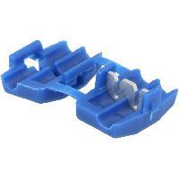 Prises & Cosses 6x Connecteurs rapides bleus 0.75 2.5mm2 - IDC