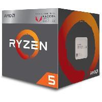 Processeur Processeur Ryzen 5 2400G - Socket AM4 - Quadricoeur - Frequence 3.6GHz