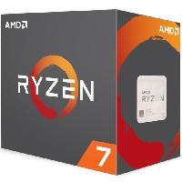 Processeur Processeur Ryzen 7 1700 avec refroidisseur Wraith Spire - 65W - 3GHz - Turbo 3.7GHz - Socket AM4 - YD1700BBAEBOX