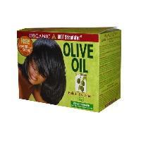 Produit De Defrisage - Produit De Lissage ORS Olive Oil Built-In Protection - Defrisant sans soude extra fort