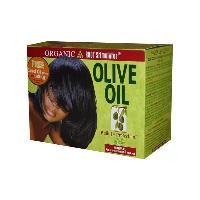 Produit De Defrisage - Produit De Lissage ORS Olive Oil Built-In Protection - Defrisant sans soude normal