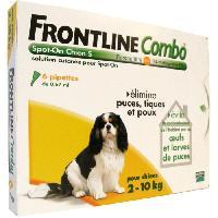 Produit De Soin - Hygiene FRONTLINE Combo chien 2-10kg - 6 pipettes
