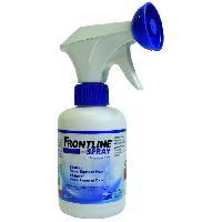 Produit De Soin - Hygiene FRONTLINE Spray - Anti-puces et anti-tiques pour chien et chat - 250 ml