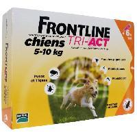 Produit De Soin - Hygiene FRONTLINE TRI-ACT 5-10kg - 6 pipettes